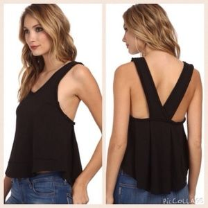 Free People We the Free Toying Around Jersey Tank